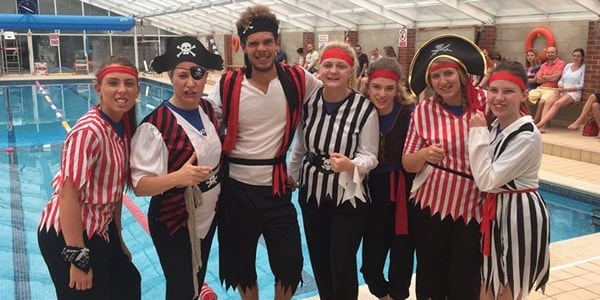 Swimming Lessons FUN Day Pirate Team