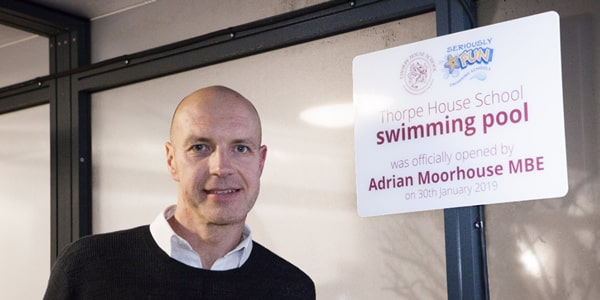 Seriously FUN Adrian Moorhouse Thorpe House School Swimming Pool